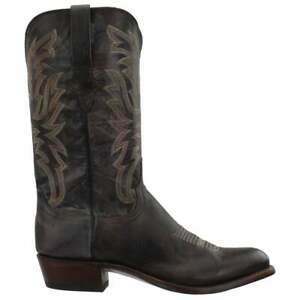 Lucchese Milo Goat Round Toe   Mens  Boots   Mid Calf  - Brown