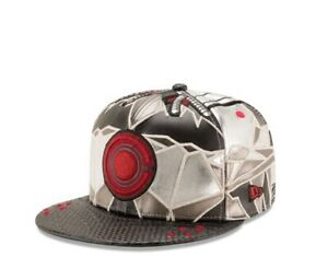 NEW ERA 59 FIFTY JUSTICE LEAGUE CYBORG FITTED MENS HAT 7 1/4 LIMITED METALLIC