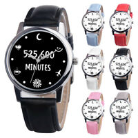 Unisex Lover Design LeatherBand Analog Quartz Waterproof Wrist Watch Sport Watch