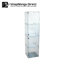 Display Cabinet Glass Cube 4 Floor Standing   - CUBE4