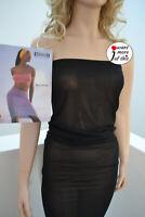 Wolford Fatal Multitube Sheer Dress Kleid Tube Top Rock Medium black schwarz