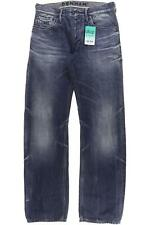 DENHAM Jeans Herren Hose Denim Gr. INCH 29 Baumwolle blau #a046381