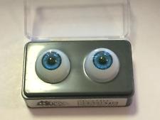 20mm Blue Glastic Realistic Acrylic Doll Eyes