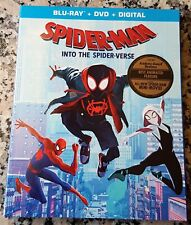 MARVEL SPIDER MAN INTO THE SPIDER VERSE Slipcover BLU RAY ONLY No DVD Digital