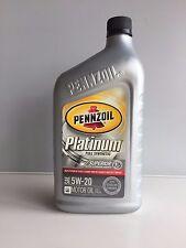 PENNZOIL Motoröl 5W20 Platinum Full Synthetic 1 Qt