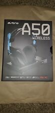Astro Gaming A50 Wireless Dolby Gaming Headset - Black/Blue PlayStation 4/PC