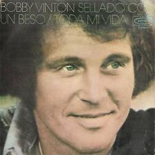 "BOBBY VINTON 7""PS Spain 1972 Sealed with a kiss"