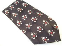 Disney Mickey Unlimited Mickey Mouse Black Novelty Tie Men's Polyester Necktie