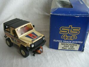 """Scalextric Exin STS 4x4 ref.2201 Mercedes 280  """"Rothmans"""" Nº4"""