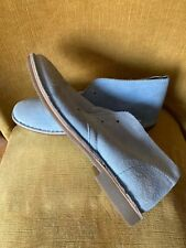 men new suede blue shoes uk 9