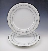 2 Noritake China GLENCOE #6505 Dinner Plates- Set of Two