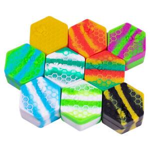 26ml Honeybee Hexagon Silicone Jar Box Mixed Color