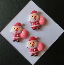3 Kinderknöpfe Knöpfe Bastelknöpfe Zierknöpfe Motivknöpfe Weihnachten  se17-5