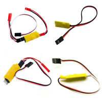 RC Receiver Controlled Switch Car Lights Remote For RC Model Car