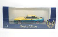 #43275 - BoS Opel Manta B Mattig - metallic-gelb/metallic-blau - 1991 - 1:43