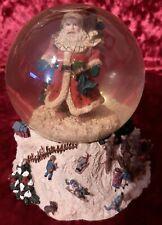 """WestlandOld World Santa Waterglobe That Plays Musical Tune """"Winter Wonderland"""""""