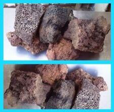 10 KG NATURAL LAVA ROCK IDEAL FOR FISH TANK AQUARIUM