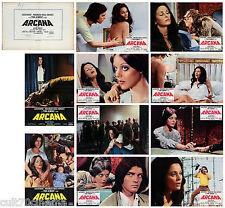 ARCANA SET FOTOBUSTA 10 PZ. LUCIA BOSE' MAGIA PARANORMALE THRILLER HORROR 1972
