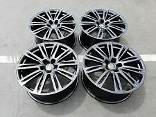 """20"""" Audi S7 A7 A8 S8 OEM factory forged black wheels SLINE  S5 A5"""