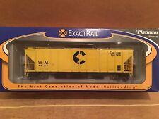 HO Exactrail Platinum Chessie System P-S 4427 3-Bay Covered Hopper WM #4689 CSX