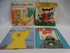 Sesame Street Book & Record Set (4)