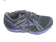 Brooks size 7.5B Pure Cadence black purple womens running athletic shoes sneaker