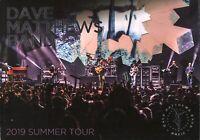 DAVE MATTHEWSBAND 2019 SUMMER TOUR CONCERT PROGRAM BOOK BOOKLET / NMT 2 MINT