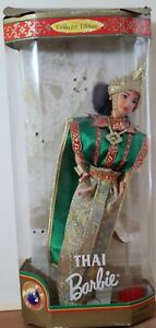 Thai BarbieCollector Edition1997 Dolls of the World Collection Loose Damaged Box
