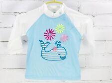 Coolibar Rash Guard Long Sleeve Swim Shirt Baby Girls 6M Sun Protection UPF 50+
