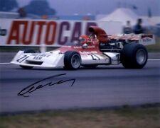 Niki Lauda BRM P160E British Grand Prix 1973 Signed Photograph 2 *With Proof*