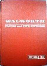 WALWORTH Valve Catalog ASBESTOS Packing Gaskets 1957 Oil Steam Gas Service