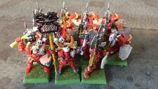 Lot of fifteen (15) Chaos Warriors OOP USED Warhammer Fantasy Battles classic