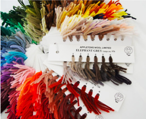 Appletons Crewel Wool Skeins Pick Your Own Shades ~ 601 to 998 **FREE P&P**