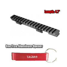 Ruger Mini 14/30 Ranch Rail Matte Aluminum - Black