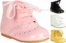 Boots Wide Shoes with Laces for Girls