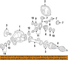 FORD OEM Front Axle-Tube 9L1Z4K206A