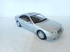 1:18 AUTOart Mercedes Benz CL 500 SILVER METALLIC (Dealer)N MINT OHNE BOX RARE