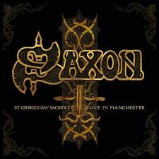 St. George's Day Sacrifice: Live in Manchester by Saxon (CD, Mar-2014, 2 Discs,