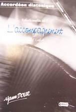 Accordéon diatonique Tablatures méthode complète vol. 3 avec CD, par Yann Dour.