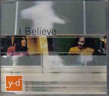Y-D-I Believe cd maxi single eurodance Danmark