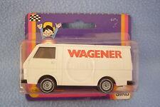 """ SIKU ""Vehículo PUBLICITARIO a escala - VW - TRANSPORTER-13-emb.orig-WAGNER"