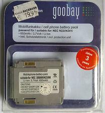 66196 NEC DB8000/N8/N22i/N341i Mobilfunkakku