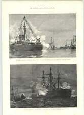 1890 Plymouth Sound Adml Tryon Torpedo Attack Kronprinz Rudolf Protected Trade