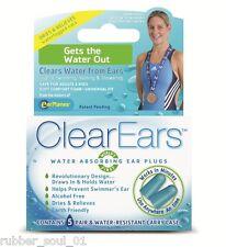 Cirrus Healthcare ClearEars EarPlugs - 5 Pair (FREE UK P&P)