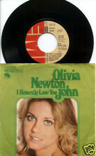 OLIVIA NEWTON JOHN I Honestly Love You 45 & PS Picture Sleeve GERMANY
