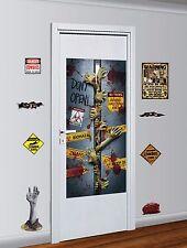 Kit De Decoración De Zombie peligro advertencia no-muertos dentro de WALKING DEAD Decoración de Halloween
