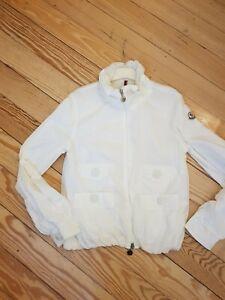 Moncler Jacke Weiß Gr.36