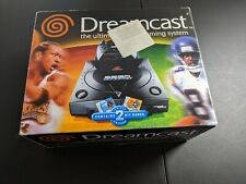 Sega Dreamcast Sports Black Console System Complete in box great shape tested!