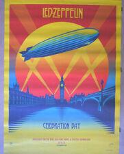 More details for large led zeppelin 2012 `celebration day`  album original promotion poster