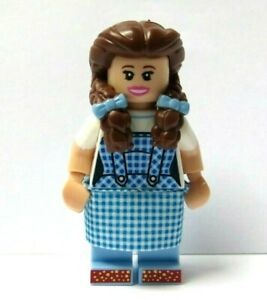 LEGO Flesh Female Girl Minifigure Dorothy The Wizard Of Oz  Reversible Head